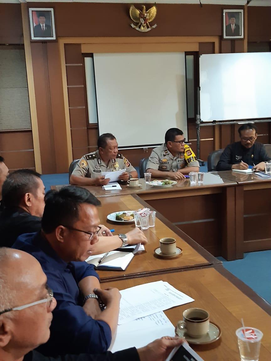 Rapat Kegiatan satgas saber pungli kab. Purwakarta tanggal 7 agustus 2019